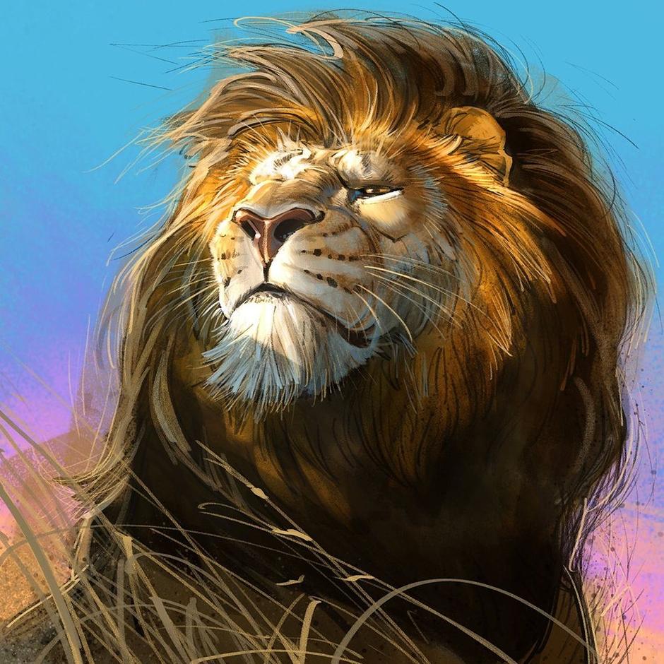 ۱۰۲۶۲۷۲-aaron-blaise-kinetic-lion-study-1200