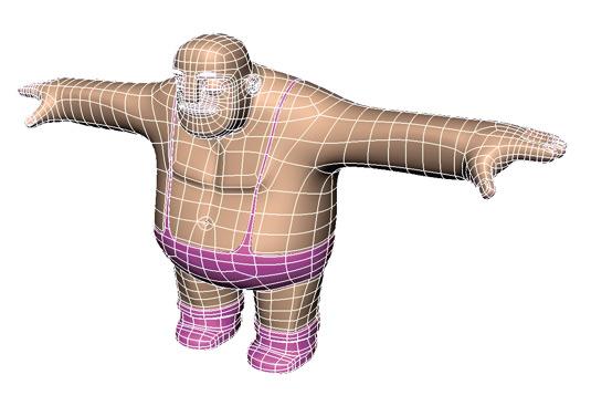 ۲٫ Overall shape