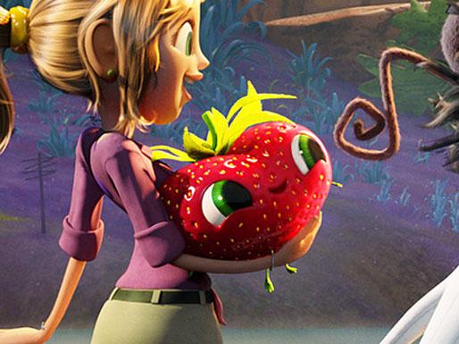 Barry the -gibberish talking- strawberry
