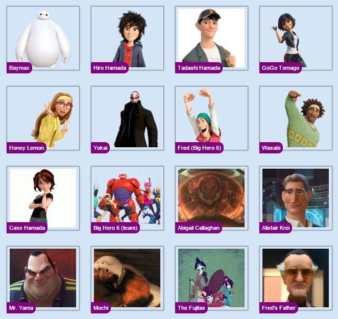 BigHero6_Characters