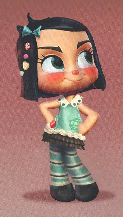 Concept Vanellope by Mike Gabriel2