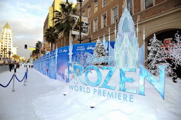 Frozen Premiere - Set