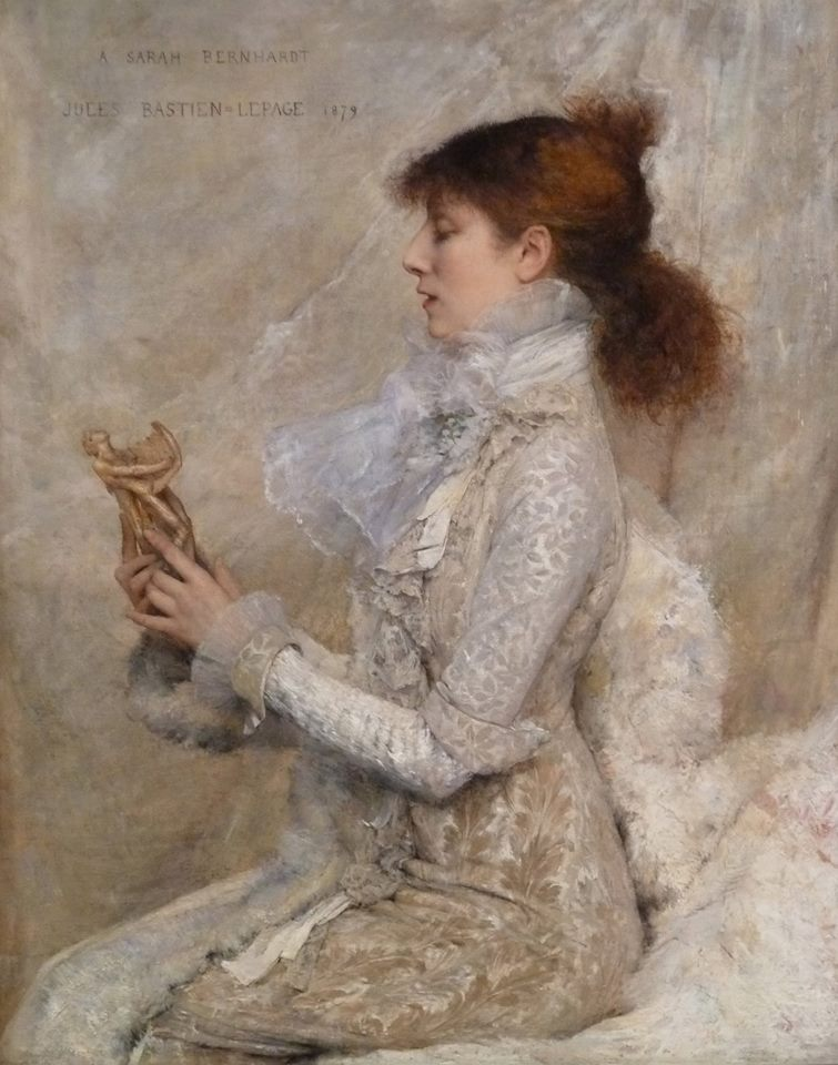 Jules Bastien-Lepage, Sarah Bernhardt 1879