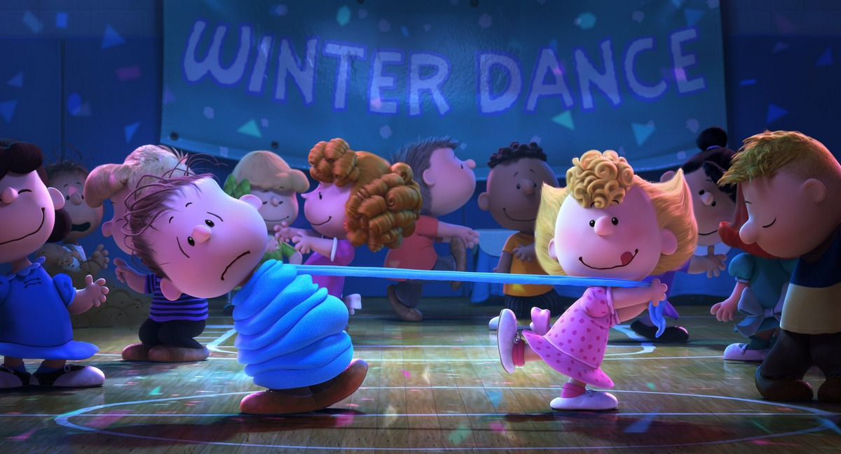 Don't look for motion blur in The Peanuts Movie, even when the characters are dancing. BLUE SKY STUDIOS, 20TH CENTURY FOX ANIMATION, PEANUTS