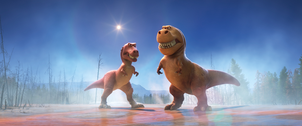THE GOOD DINOSAUR - Pictured (L-R): Ramsey, Nash. ©۲۰۱۵ Disney•Pixar. All Rights Reserved.