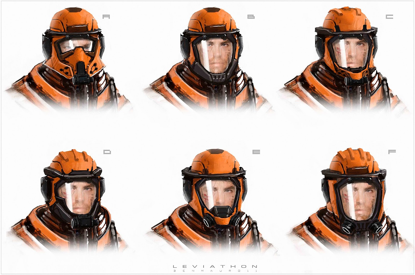 The_Leviathan_Concept_Art_Ben_Mauro_helmet_variants