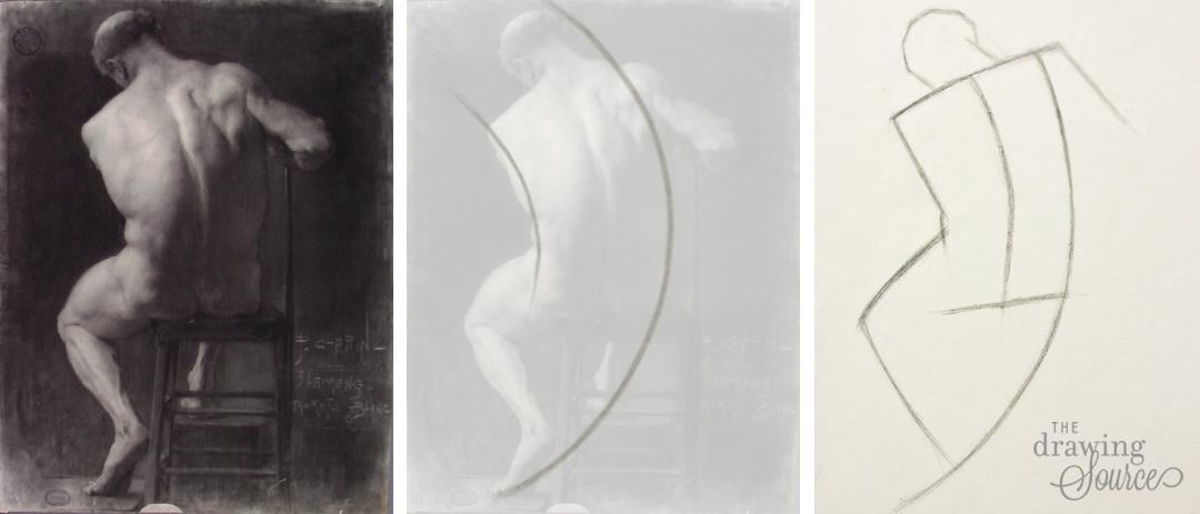 drawing-figures-gesture-lines