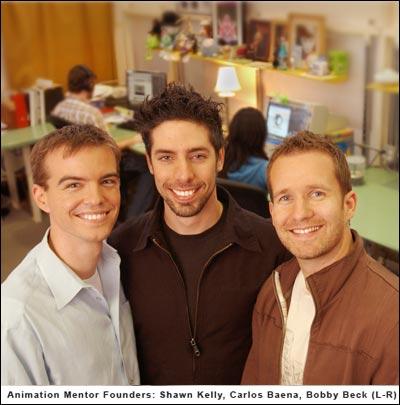 Shawn Kelly, Carlos Baena, Bobby Beck